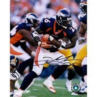 Signed Portis Clinton Denver Broncos 8x10 Photo autographed