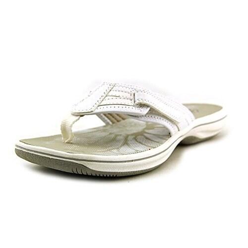 CLARKS Womens Brinkley Open Toe Casual Slide Sandals