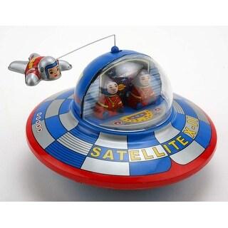 "Vintage Style 5"" Tin Satellite Orbiter - Multi"