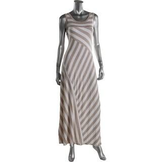 Calvin Klein Womens Jersey Chevron Casual Dress - 8
