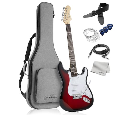 "39"" Full-Size Electric Guitar Beginner Kit with Gig Bag"
