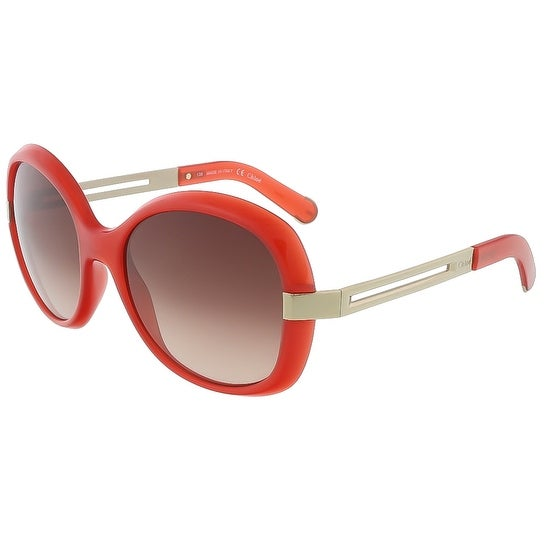 Chloe CE662S 626 Coral Round sunglasses - 55-18-135
