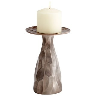 Cyan Design 09821  Spose Aluminum Decorative Candle Holder - Bronze
