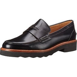 Coach Women's Indie Box Calf Almond Toe Loafers