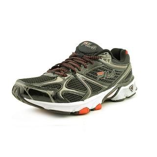 Fila Memory Exodus Men Round Toe Synthetic Black Running Shoe