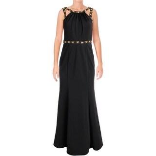 Decode 1.8 Womens Evening Dress Matte Jersey Embellished