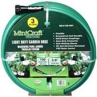 Mintcraft GH-58503-1003L Garden Hose PVC 100 Ft. 3 Ply