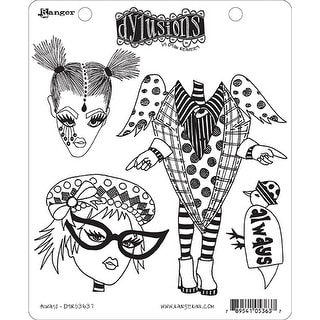 """Dyan Reaveley's Dylusions Cling Stamp Collections 8.5""""X7""""-Always"""
