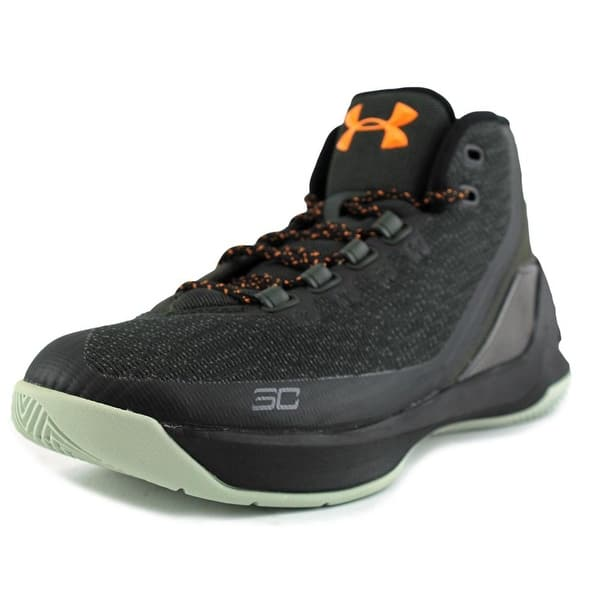 timeless design 34e02 ae3f1 Shop Under Armour Curry 3 Men Round Toe Canvas Black ...