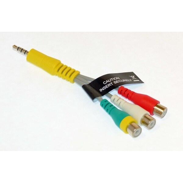 NEW OEM Samsung Audio Video AV Cable Originally Shipped With UN43KU7000F, UN43KU7000FXZA, UN55MU7000F, UN55MU7000FXZA