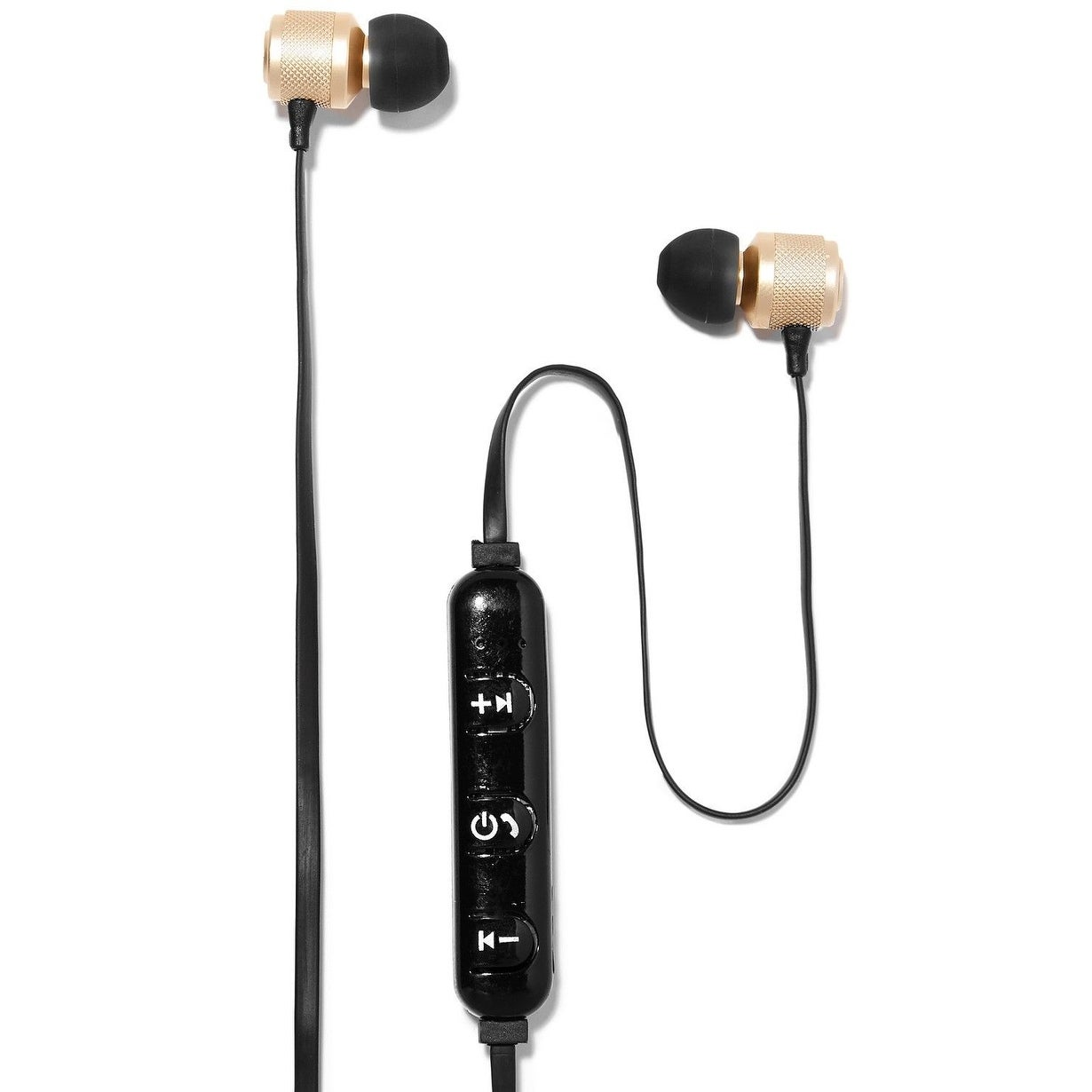 Shop Polaroid Wireless Bluetooth Earbuds Gold Metallic Overstock 28864711