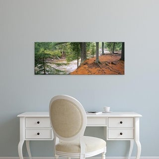 Easy Art Prints Panoramic Images's 'River flowing, Gooseberry River, Gooseberry Falls State Park, Minnesota' Canvas Art