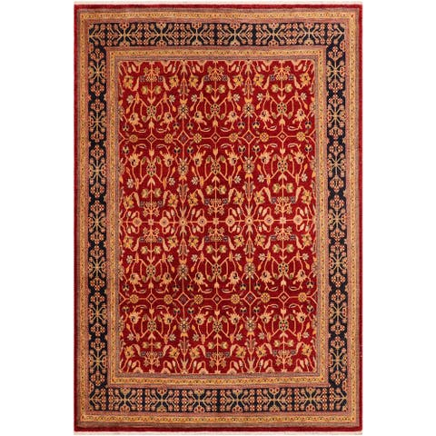 """Boho Chic Ziegler Jordan Hand Knotted Area Rug -8'1"""" x 10'0"""" - 8 ft. 1 in. X 10 ft. 0 in."""