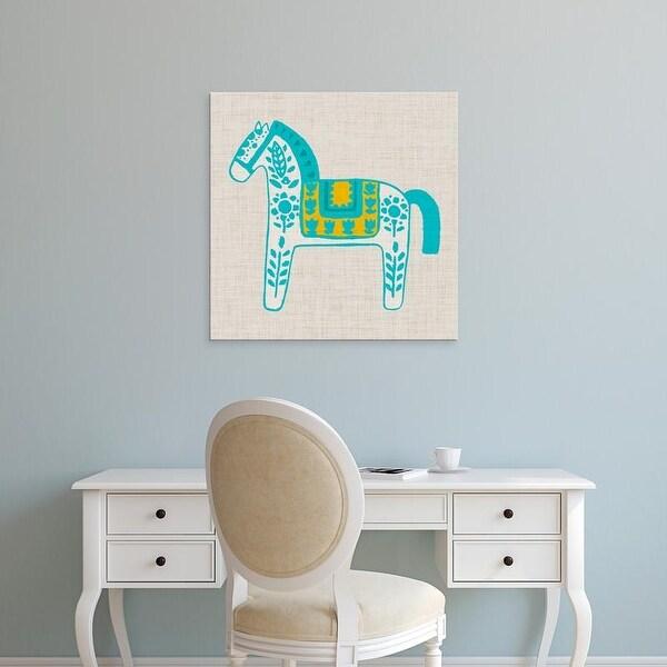 Easy Art Prints Studio W's 'Decorative Burro II' Premium Canvas Art