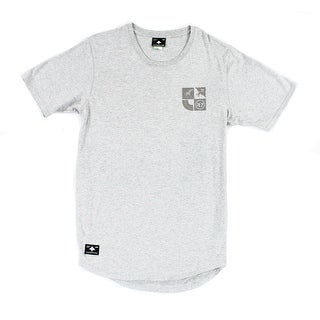 LRG NEW Heather Gray Mens Size Large L Logo Tee Crew Neck T-Shirt