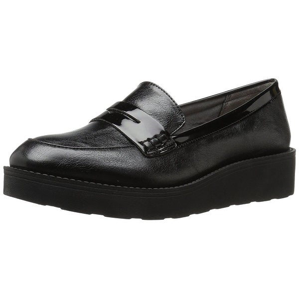 LifeStride Womens SIMS Round Toe Loafers