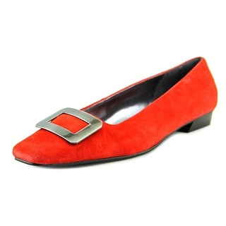 Chinese Laundry Rhoda Women Square Toe Suede Loafer