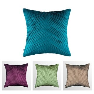 100% Handmade Imported Criss-Cross Throw Pillow Cover