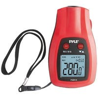 PYLE PRO PMIR15 Mini IR Thermometer with Laser Pointer