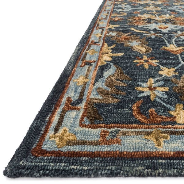 Alexander Home Madeline Wool Hand Hooked Traditional Rug Overstock 21346470