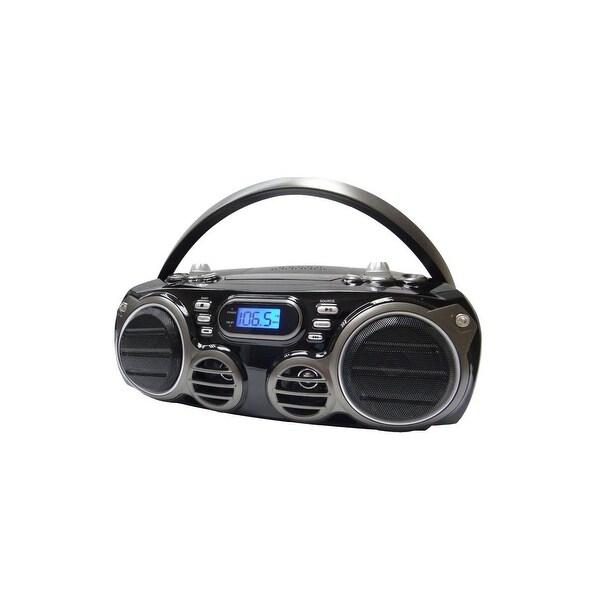 Sylvania SRCD682BT Bluetooth CD Portable Boombox w/ AM/FM Tuner Manufacturer Refurbished