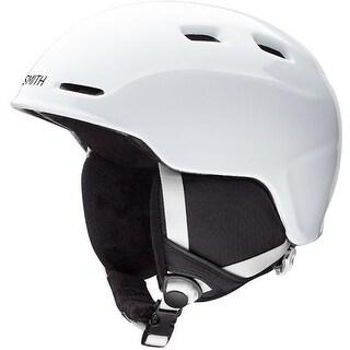 Smith Optics Zoom Jr. Snow Helmet (White/Youth Small) - White