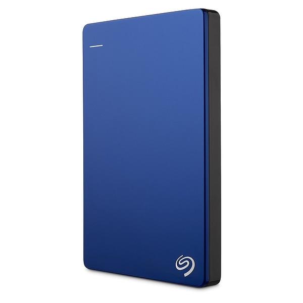 Seagate Stdr1000102 1Tb Backup Plus Slim Portable External Usb 3.0 Hard Drive - Blue