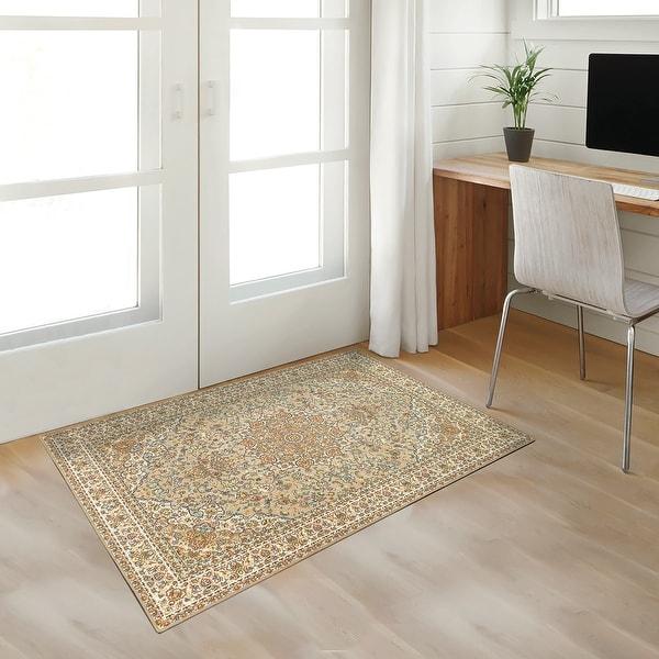 My Magic Carpet Machine Washable Rug Kenya Beige. Opens flyout.