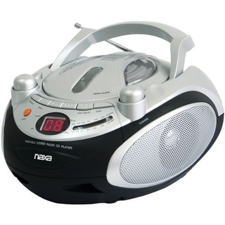 Naxa NAXNPB245M NAXA Electronics Portable CD Player and AM-FM Stereo Radio