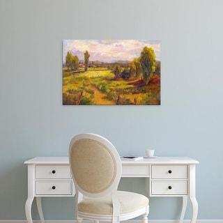 Easy Art Prints Nanette Oleson's 'Homage' Premium Canvas Art