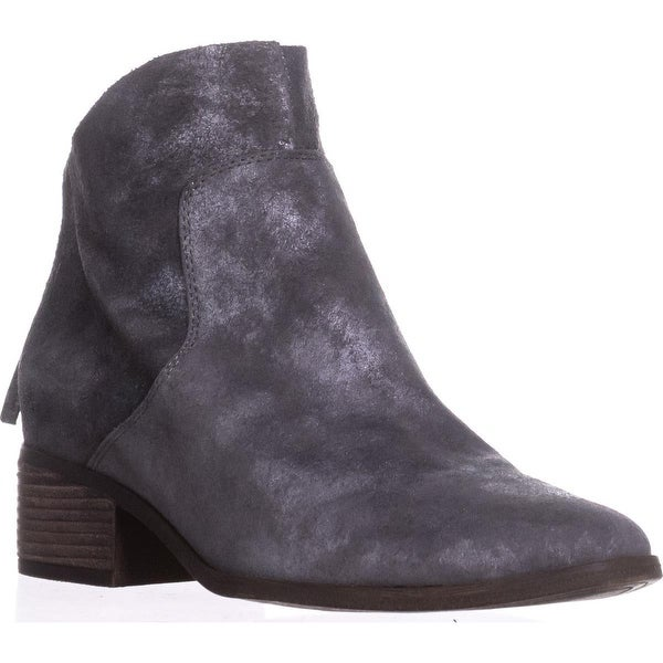Lucky Brand Lahela Casual Ankle Boots, Charcoal