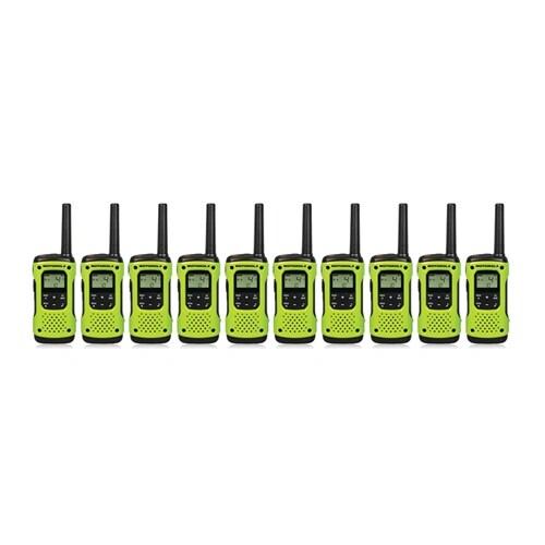 Motorola T605 (10-Pack) Walkie Talkies