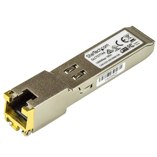 Startech Glctsttaa 1000Base-T Twisted Pair Sfp Transceiver, Silver