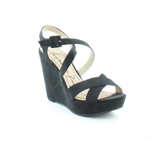 American Rag Rachey Women's Sandals & Flip Flops Black