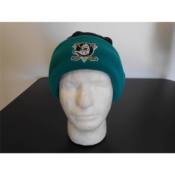 03d4c4d77bd ... wholesale anaheim mighty ducks adult unisex one size nhl beanie cap hat  74f9c 0a8bf