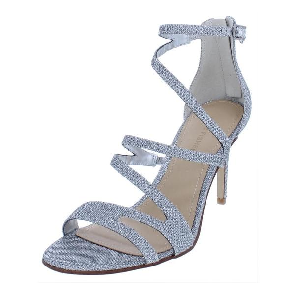Marc Fisher Womens Blaize Evening Sandals Open Toe Strappy - 8.5 Medium (B