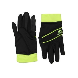 Adidas Mens Athletic Gloves Running Touchscreen