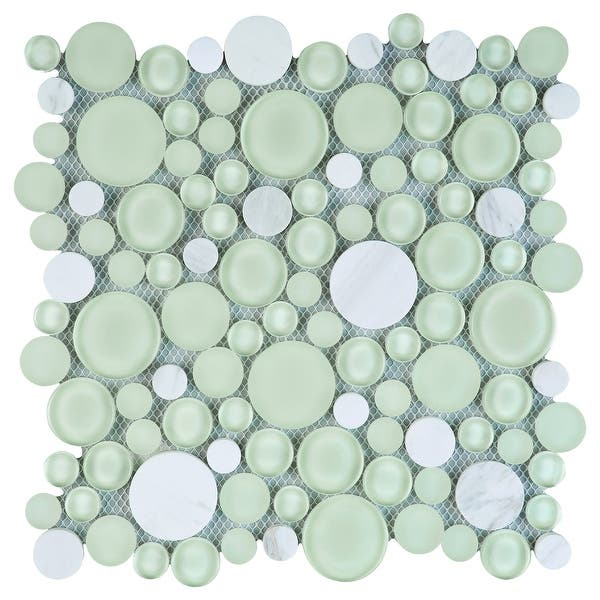 Random Sized Mixed Material Mosaic Tile