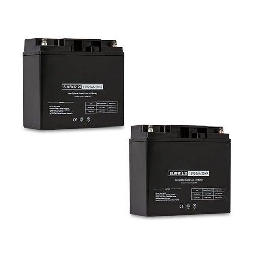 Replacement AGM SLA Battery 12V-20Ah 2-Pack Replacement AGM SLA Battery