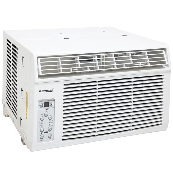 Koldfront WAC8002WCO 8000 BTU 115V Window Air Conditioner with Dehumidifier and Remote Control