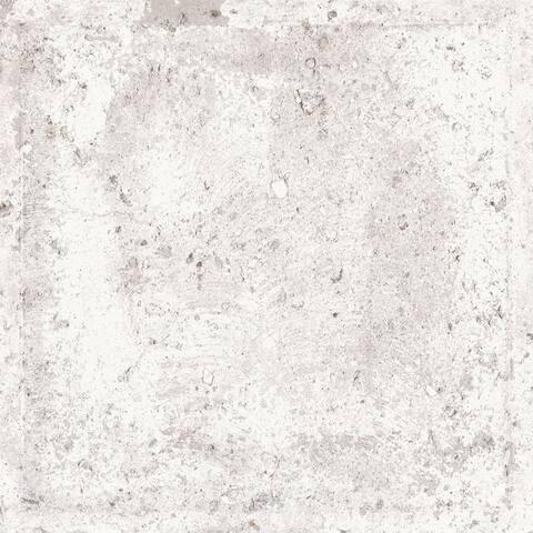 Piazza Ceramic Italian Tile in Vatican City White (8 x 8, 7 Sq. Ft.)