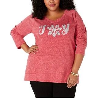 Link to Style & Co. Womens Joy Sweatshirt Similar Items in Loungewear
