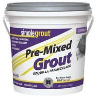 Custom Building Prod. Gl Alabastr Premix Grout PMG3331-2 Unit: EACH
