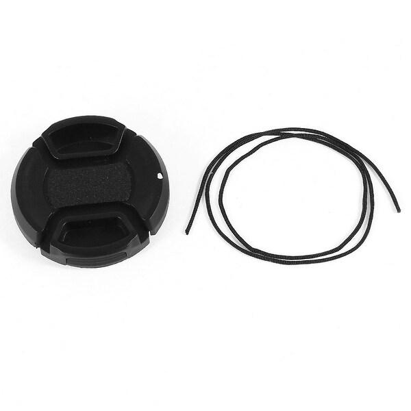 Unique Bargains Black 40.5mm Front Lens Cap Cover Replacement for DSLR Digital Camera
