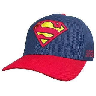 Grey DC Comics Boys Hat /& Glove Set Superman