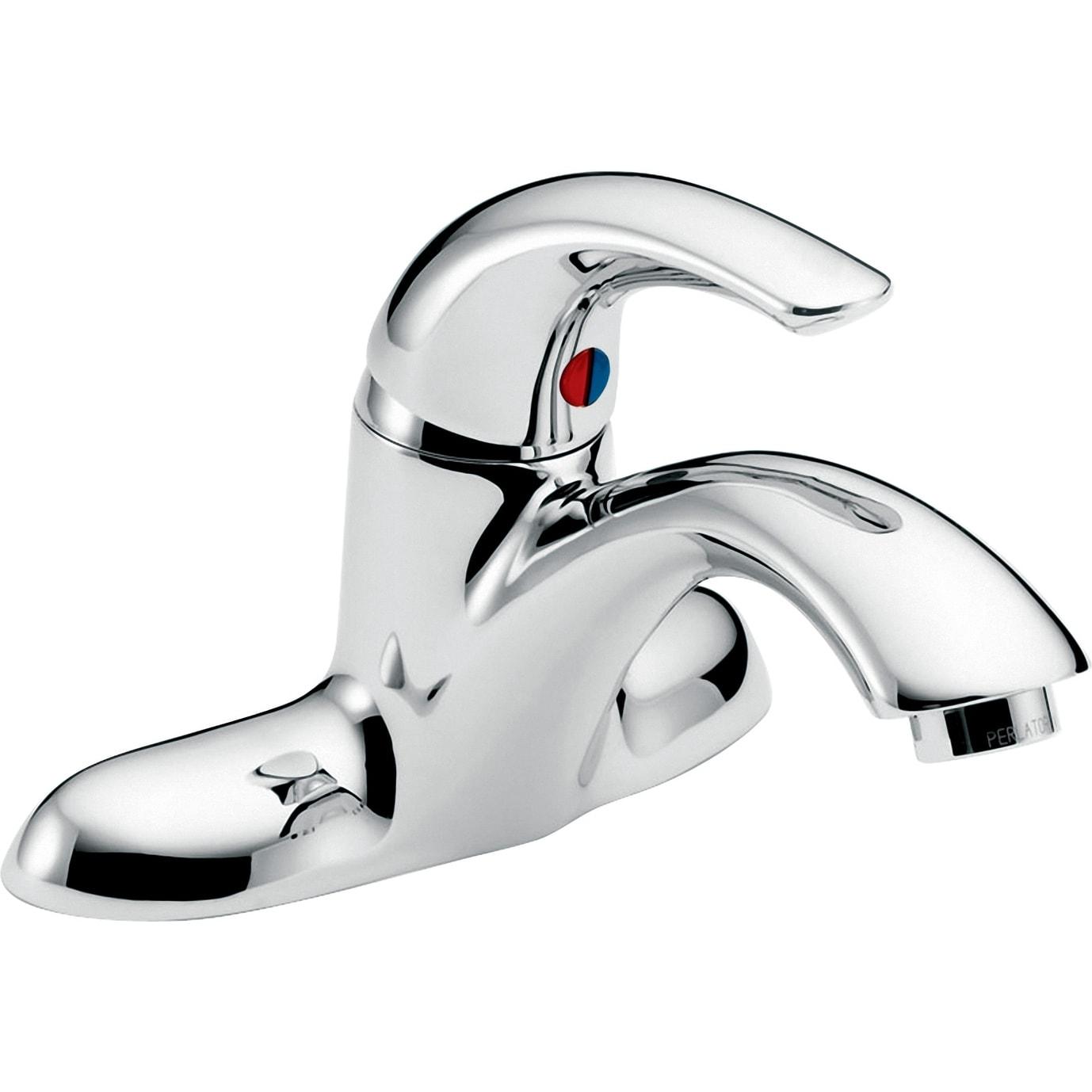 Delta Bathroom Faucets.Shop Delta 22c151 Single Handle 0 5gpm Bathroom Faucet With No Pop