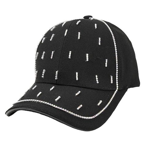 Top Headwear Stone Line Cluster Fashion Cap