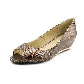 J. Renee Neda Women Open Toe Synthetic Wedge Heel