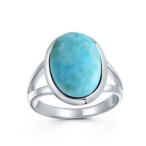 Oval Cabochon Bezel Gemstone Mood Moonstone Ring 925 Sterling Silver