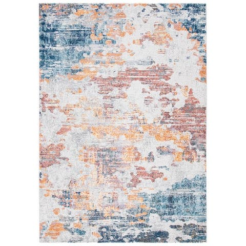 Safavieh Crystal Huriye Modern Abstract Distressed Rug